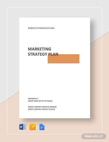 sample marketing strategy plan