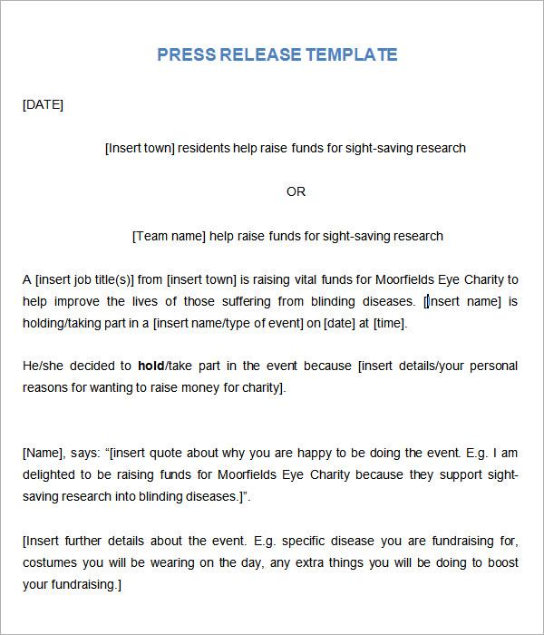 press release format new hire MEMES
