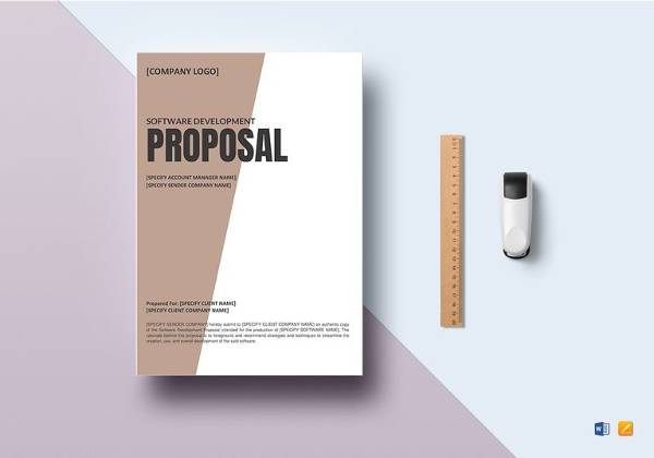 12 Sample Job Proposal Templates Sample Templates