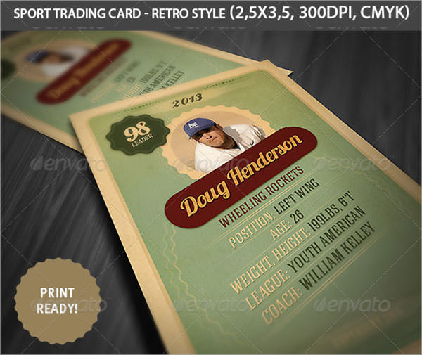 7+ Sample Trading Card Templates