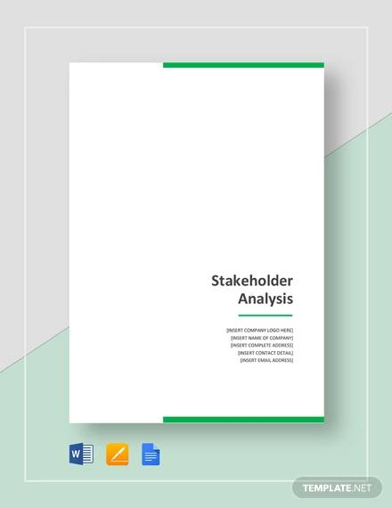 stakeholder analysis template1