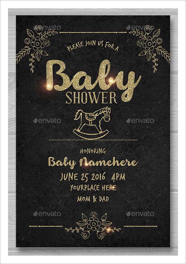 20 Sample Printable Baby Shower Invitation Templates Sample Templates