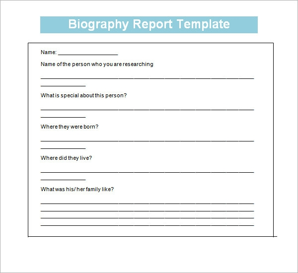 Examples List on Biographies Book Reports and Reviews