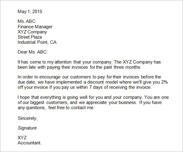 Example Of A Business Letter  The Best Letter Sample