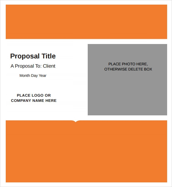 job proposal template .