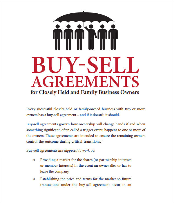 partnership buyout agreement template