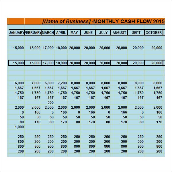 blank cash flow statement templates .