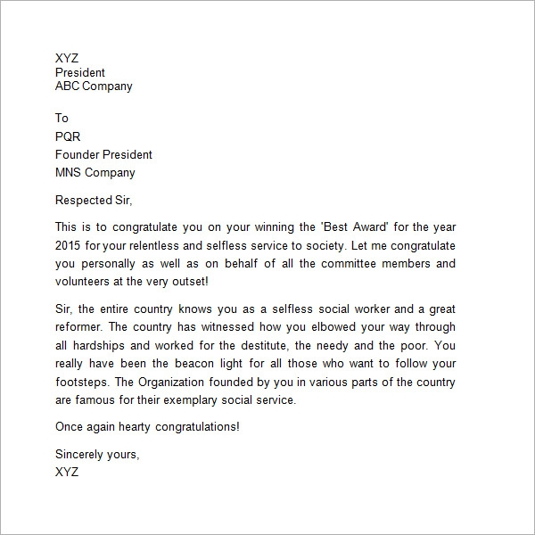 Sample Thank You Letter to Boss - 16+ Free Documents ...