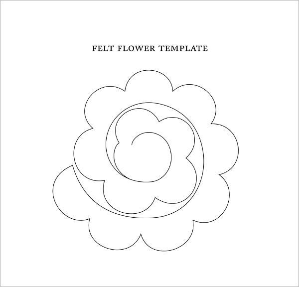 Sample Flower Temlate 6 Documents In Pdf