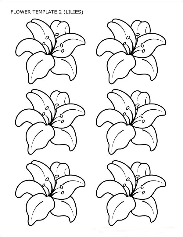 7+ Sample Flower Templates | Sample Templates