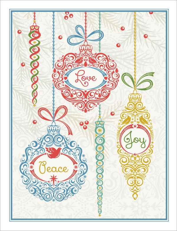 9 Greeting Card Templates – Greeting Card Templates