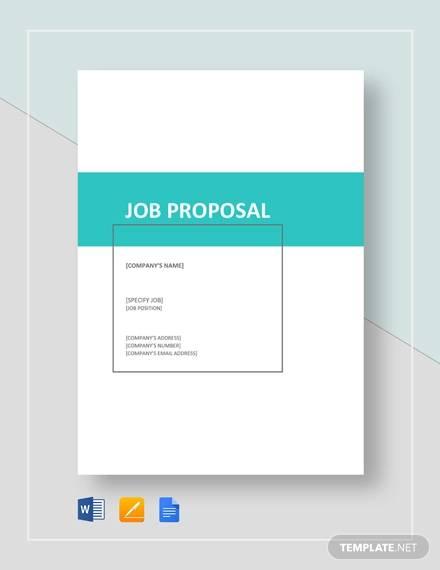 job proposal