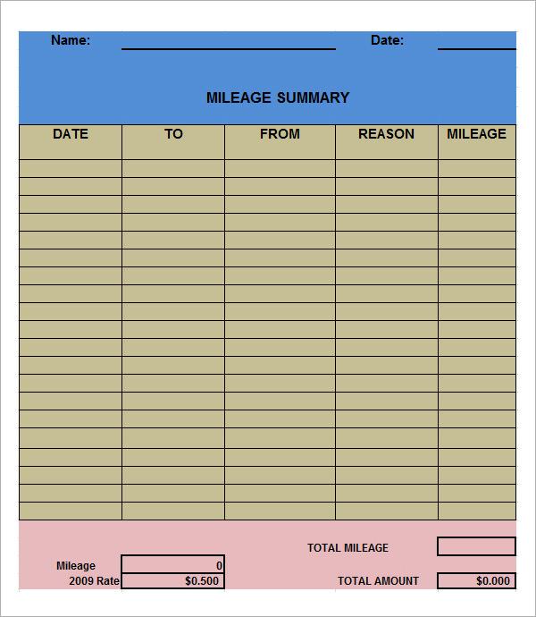 Log Sheet Templates | Sample Templates