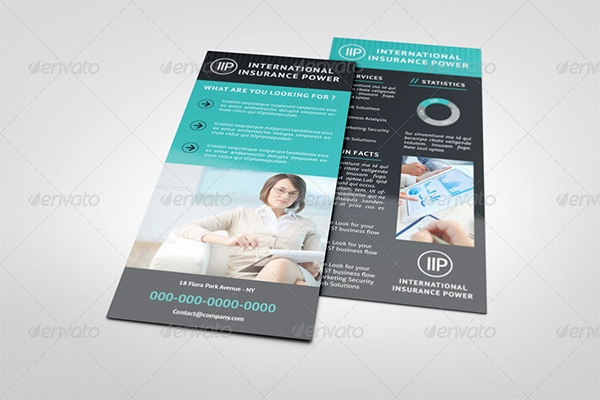 8 Sample Rack Card Templates
