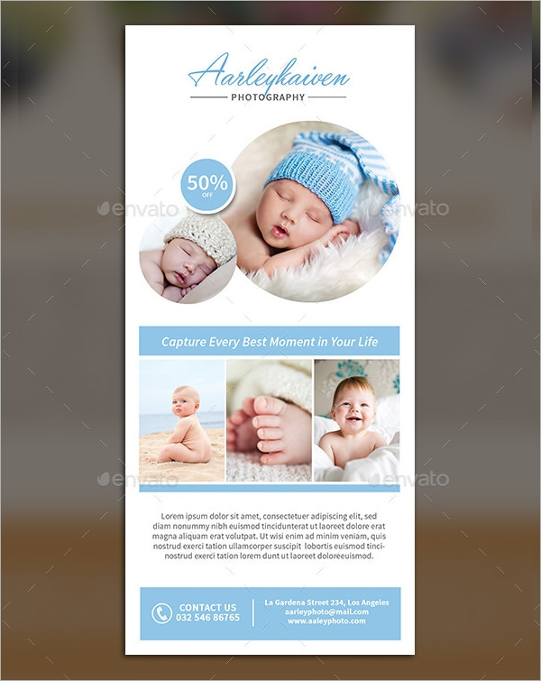 rack card template photoshop