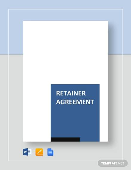 reatiner agreement