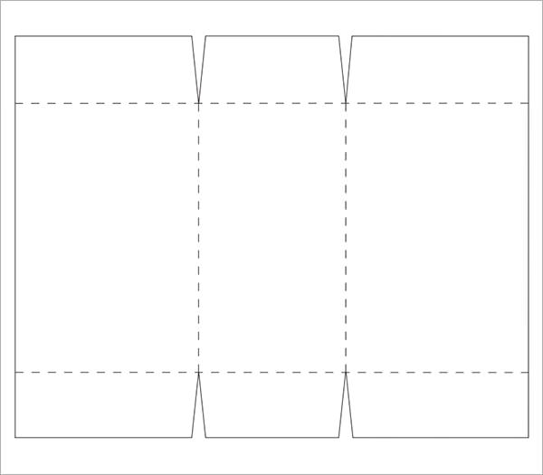 simple rectangular box template