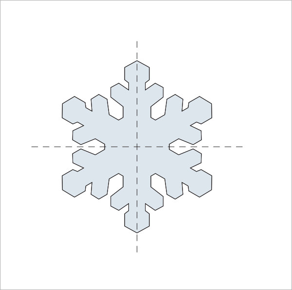 snowflake template martha stewart - snowflake template 7 free pdf download