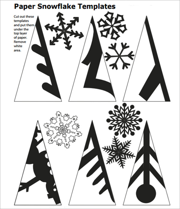 Printable Snowflake Cutting Template | Search Results ...