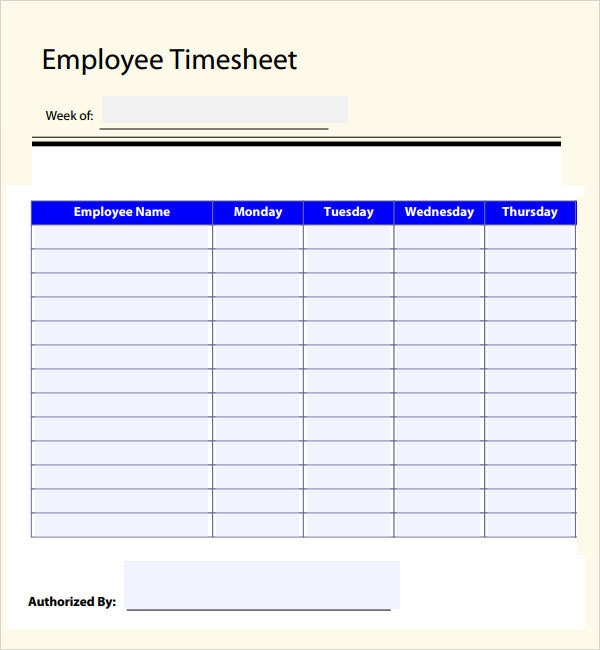 12+ Free Sample Time Log Templates to Download for Free