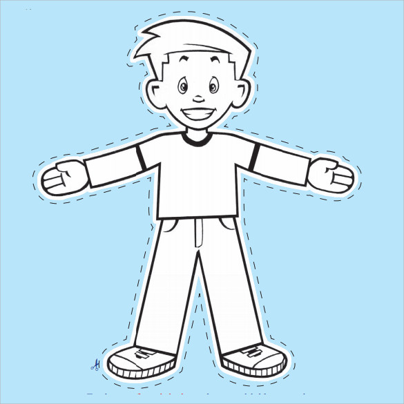 sample flat stanley template 10 free documents in pdf word With free printable flat stanley template