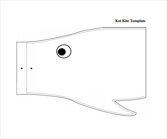 attractive kite template