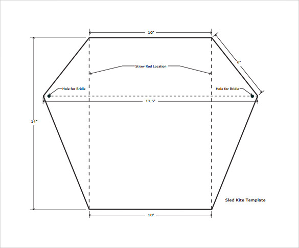 creative kite template