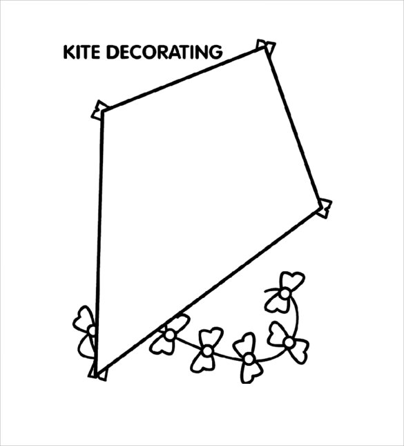 fantastic kite template