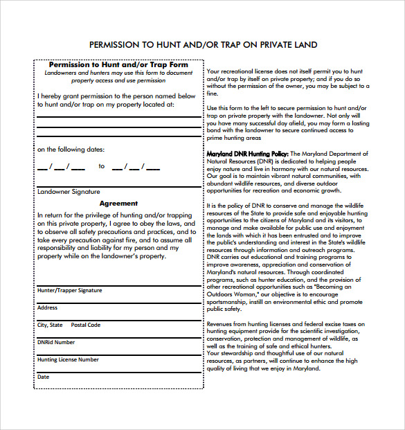 Sample Permission Slip - 14+ Documents in Word, PDF