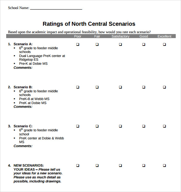 Likert Scale Template   13  Free PDF Doc Excel Download qEBQEXPo