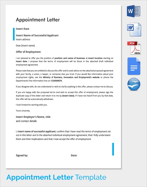 re appointment application letter sample pdf
