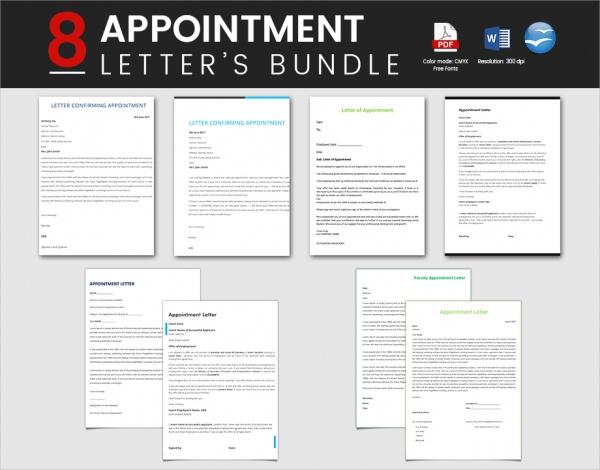 Appointment Letter Bundle