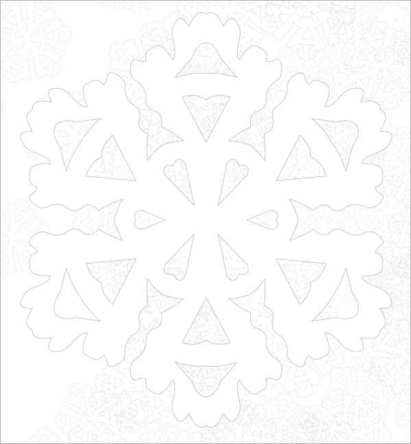 8 sample awesome snowflake templates to download sample