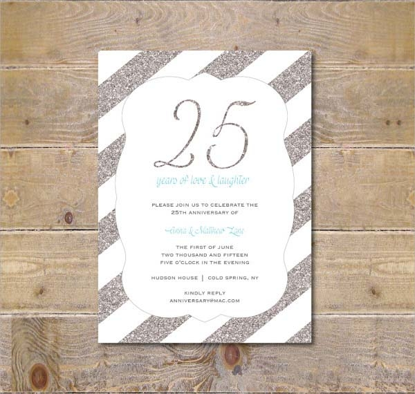 10+ Anniversary Invitation Templates