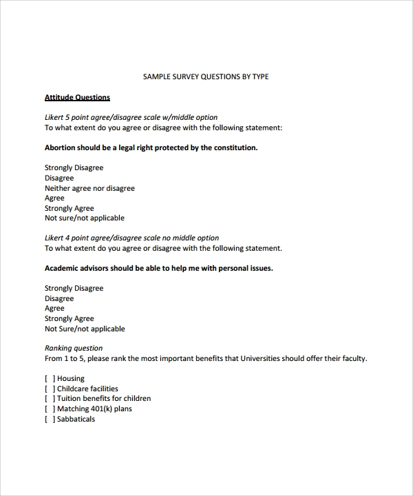 10 sample useful likert scale templates sample templates likert scale questions thecheapjerseys Image collections