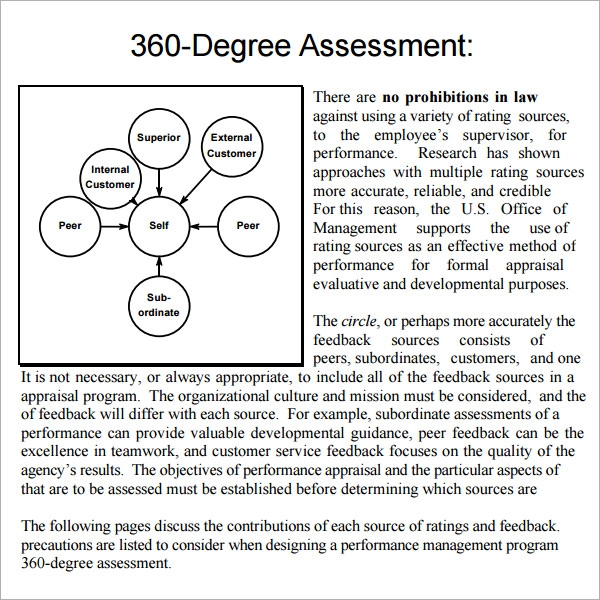 360 evaluation template
