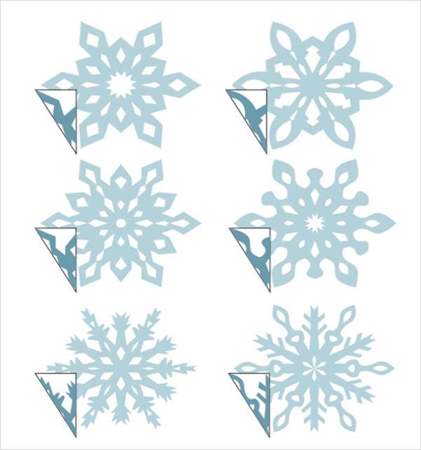 Snowflake Template 11+ Free PDF Download