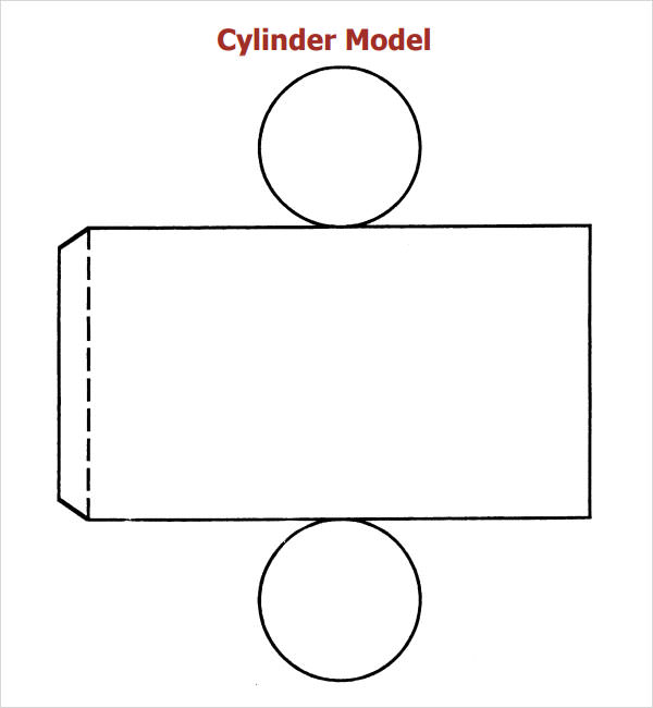 cylinder packaging template 28 images paper cylinder With cylinder packaging template