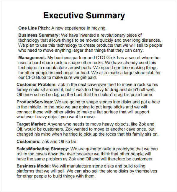 writing an executive summary for a case study Guidelines for writing a case study analysis a case study analysis requires you to investigate a business problem, examine the alternative solutions, and propose.
