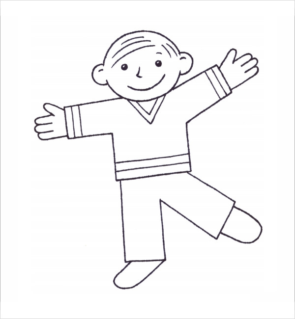 Flat Stanley Template   8  Free PDF Download Sample Templates 45UndAQx