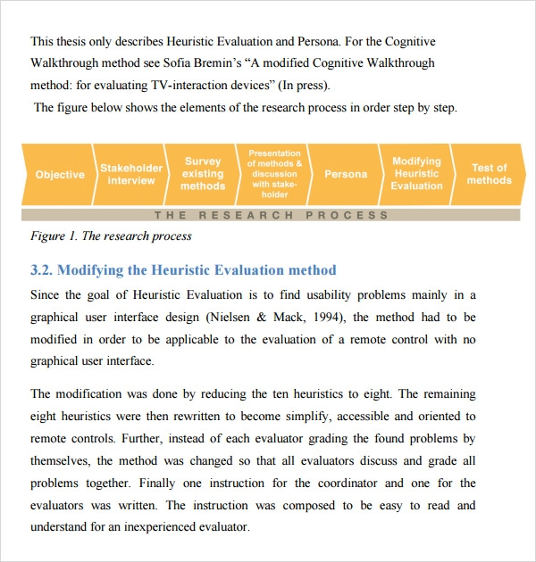 Heuristic evaluation 6 download free documents in pdf word