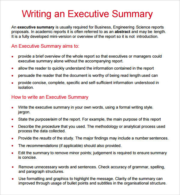 How to write an interim report business