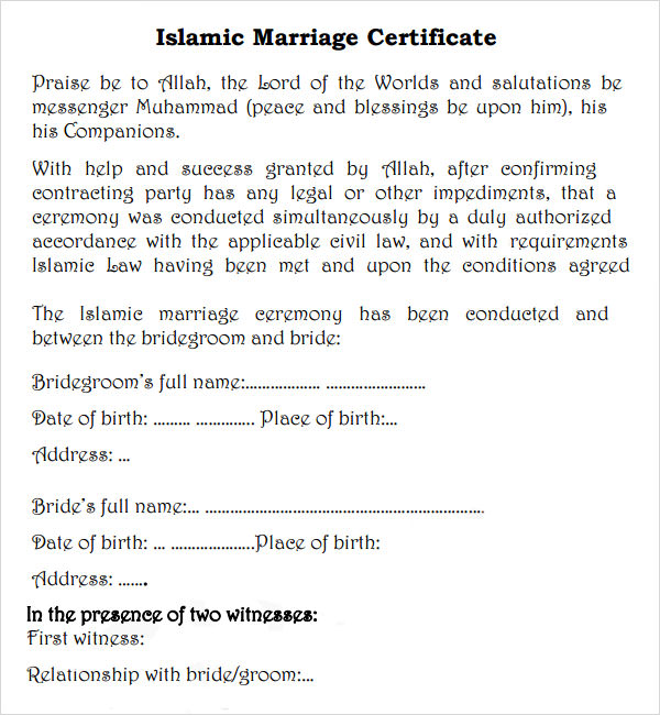 an equitable marriage contract in islamic The marriage contract is an agreement between the husband and the wife for • the equitable and islamic (shar'i) disbursement of assets marriage contract 6 concept of marriage marriage is a provision by divinity to unite a man and a woman for purposes of.