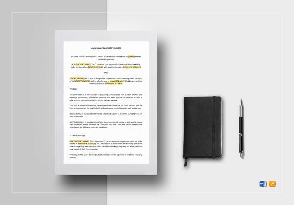 lawn service contract template2