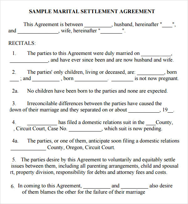 Marriage contract template 14 download free documents in pdf word marriage agreement platinumwayz