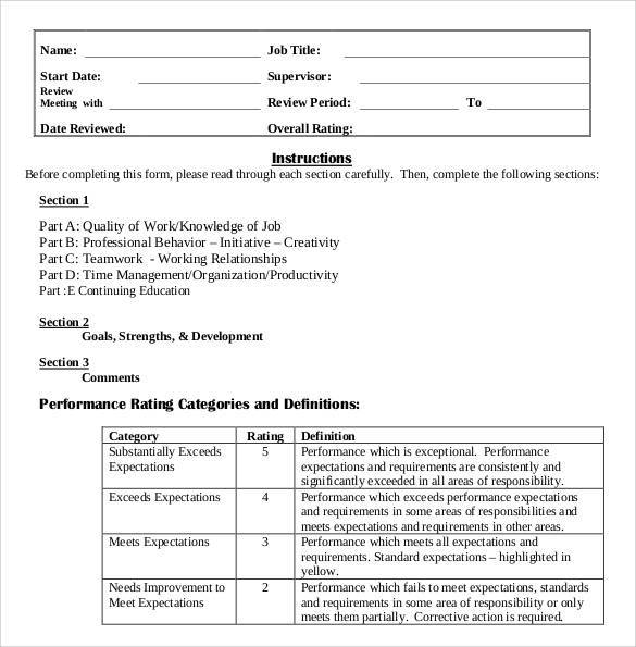medical assistant evaluation