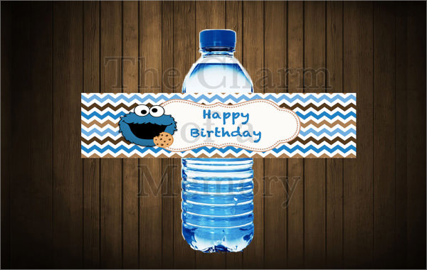 Water Bottle Label Template - 23+ Download In Psd, Word, Vector Eps