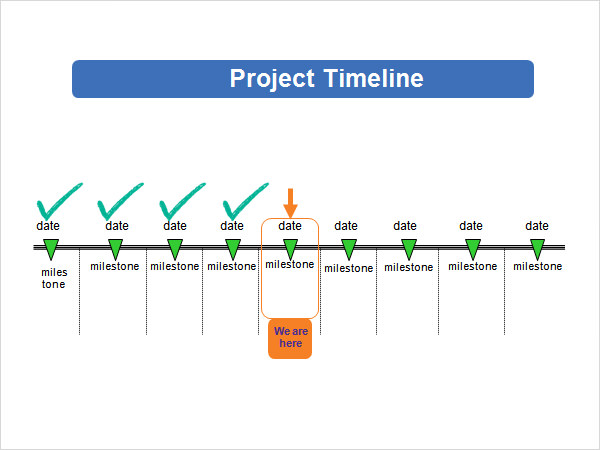 5 sample powerpoint timeline templates to download for Ms powerpoint timeline template