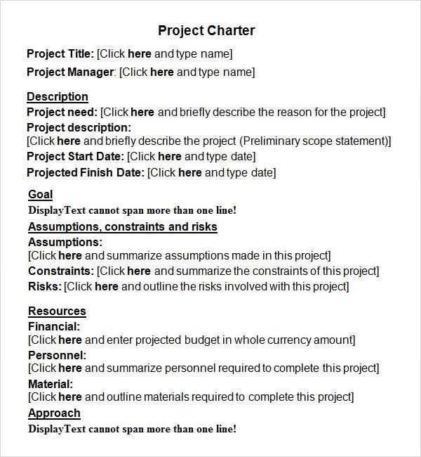 project charter document The project charter document has several elements that need to be included do you know all of the elements that goes in to a project charter document.