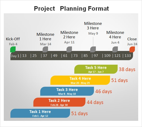 project planning schedule download